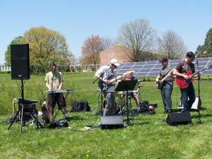Schizophonic at the Gettysburg Green Gathering